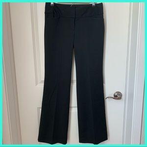 Express Wide Straight Leg Black Dress Pants 6R